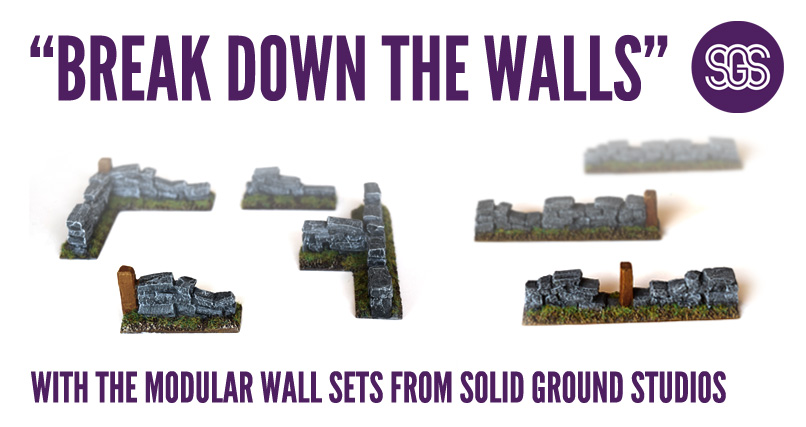 break down the walls with the modular wall sets from solid ground studios